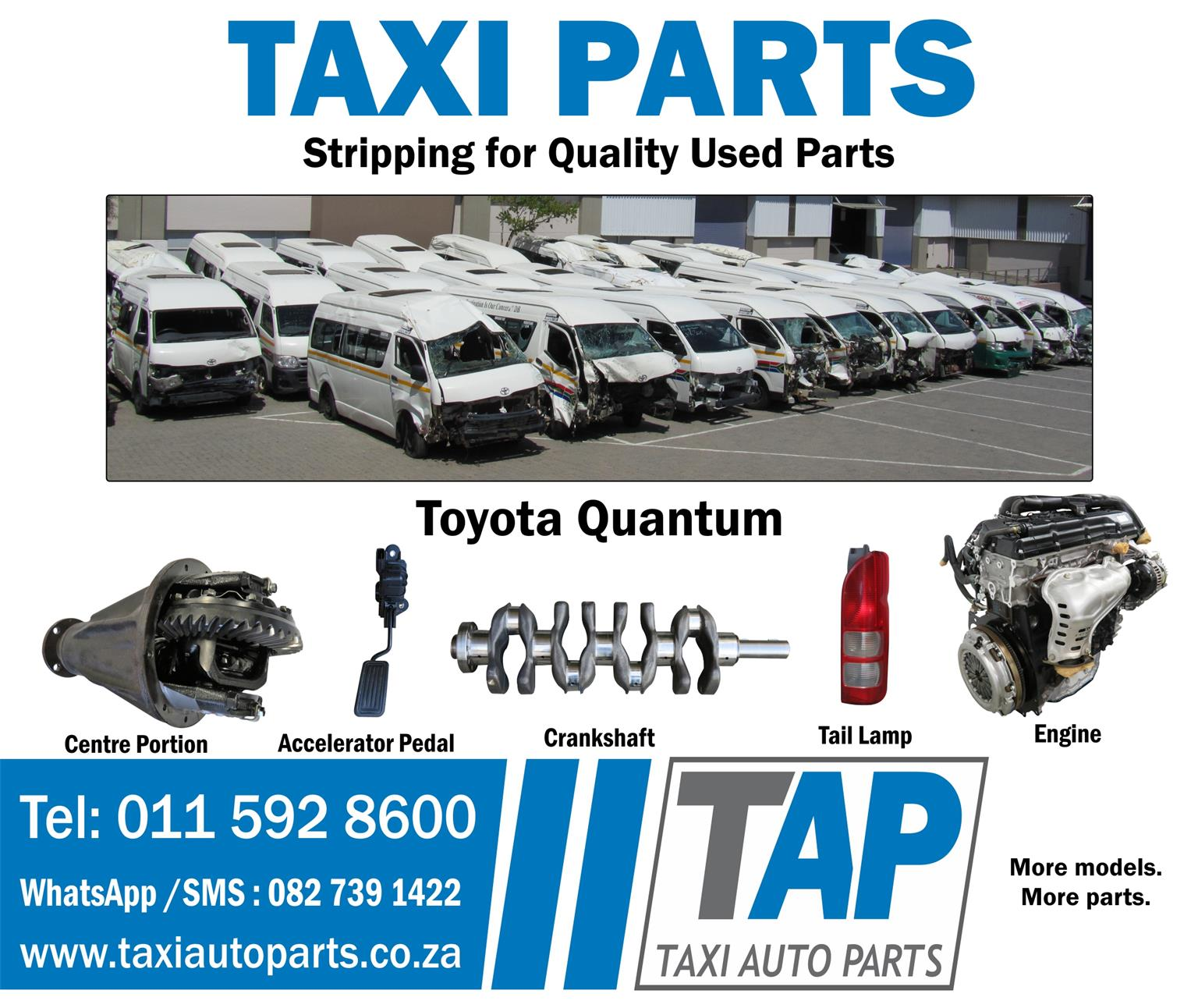 Stripping for Quality Used Parts at Taxi Auto Parts - TAP