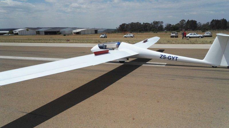 recently refurbished grob astir cs glider sailplane for sale