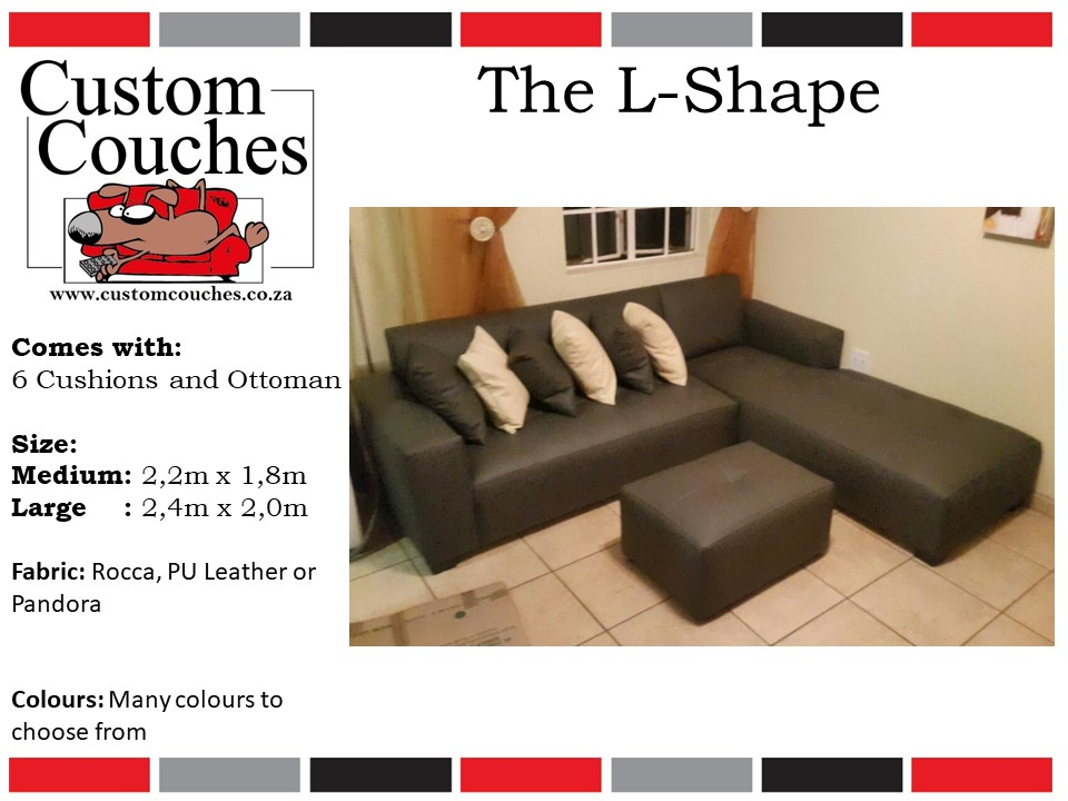 Custom Couches L Shape Large - R6750