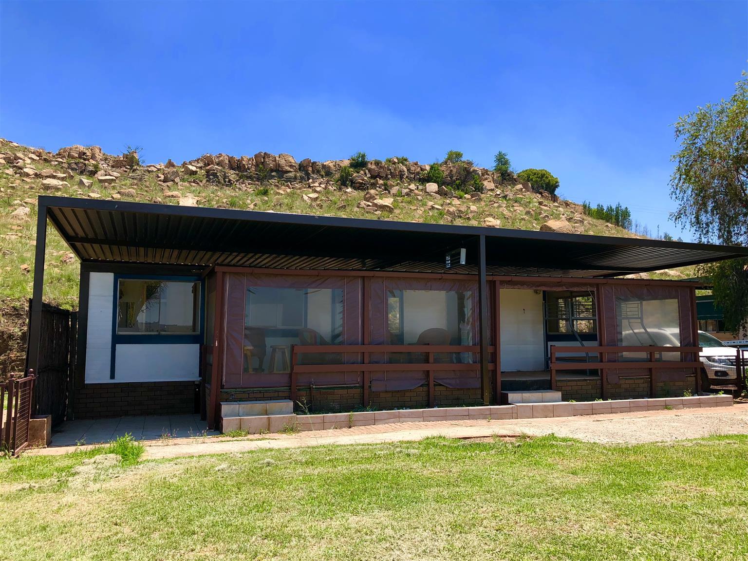 Holiday home at Bonamanzi holiday resort for sale with majestic views over Bronkhorstspru