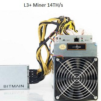 L3+ Miner 14TH/s