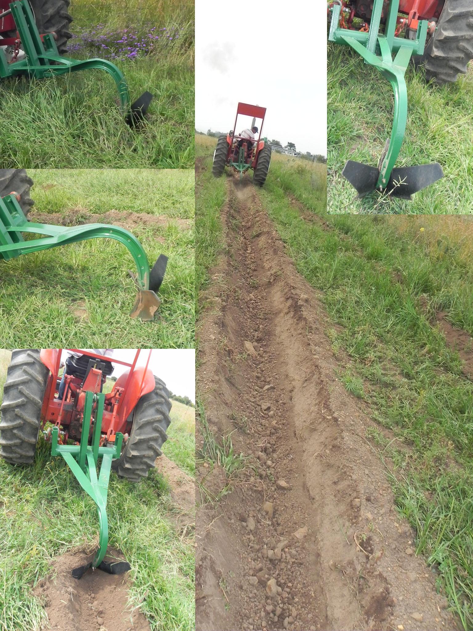 Trench digger (potato tiller)