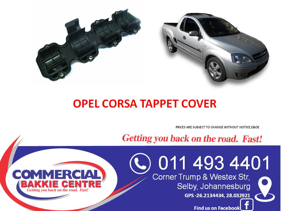 opel corsa 1.4 tappet cover