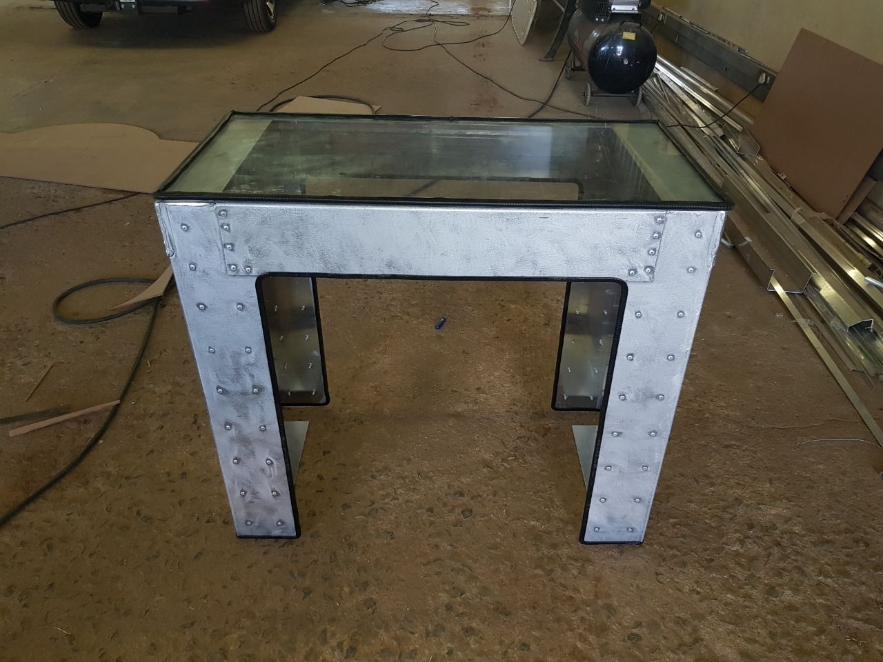 Industrial Look Table