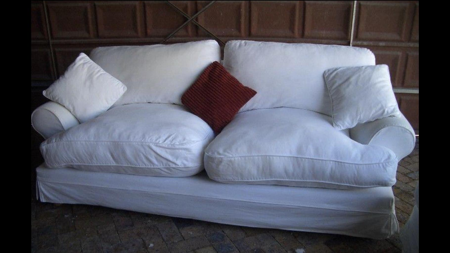 Slip cover couch