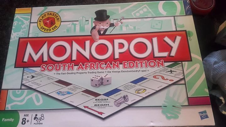 Monopoly game.