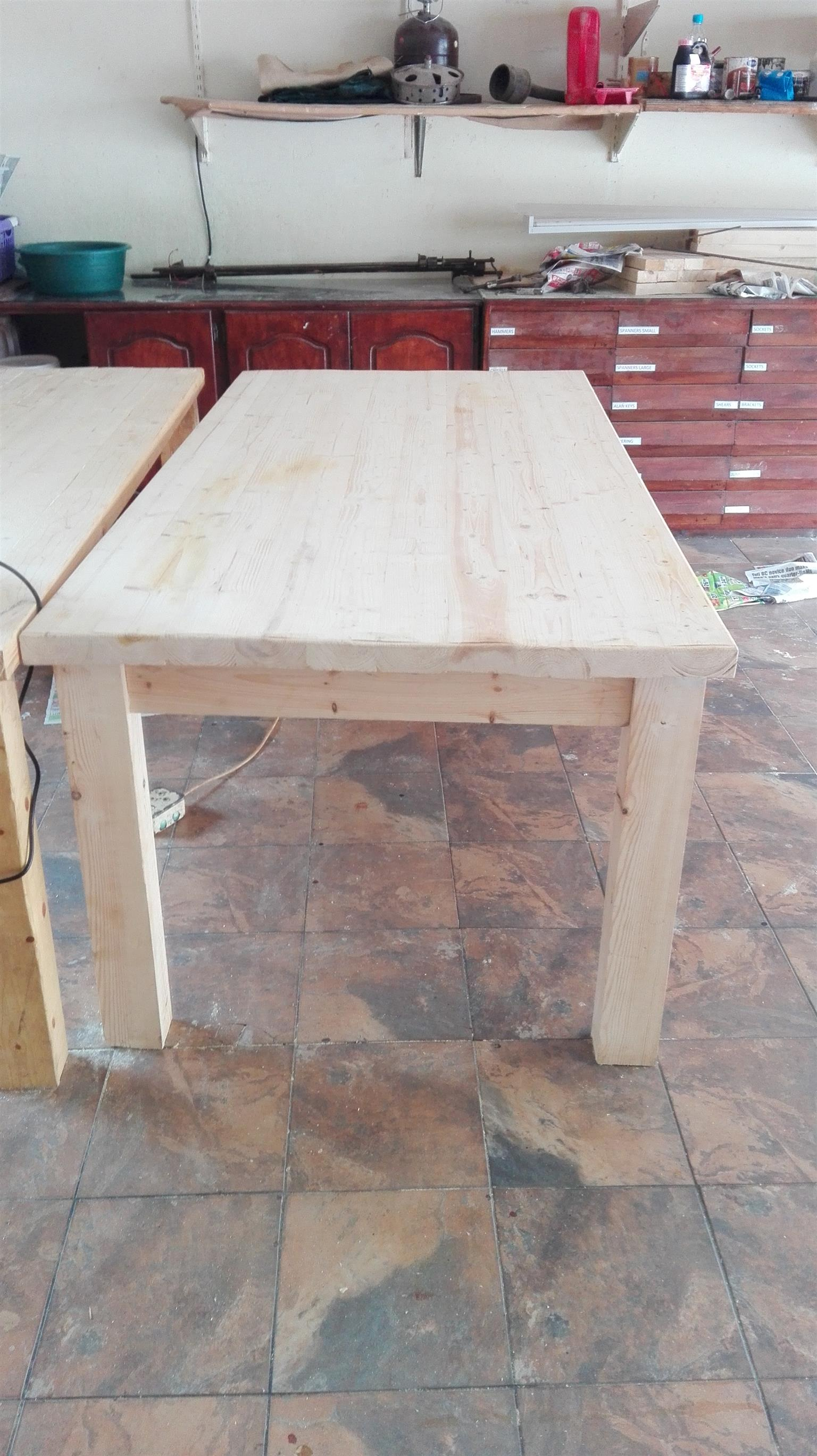 Rustic Tables made to order.