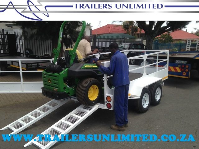 TRAILERS UNLIMITED. 4000 X 2000 X 900 UTILITY.