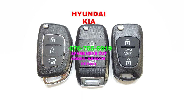 Kia Remote keys