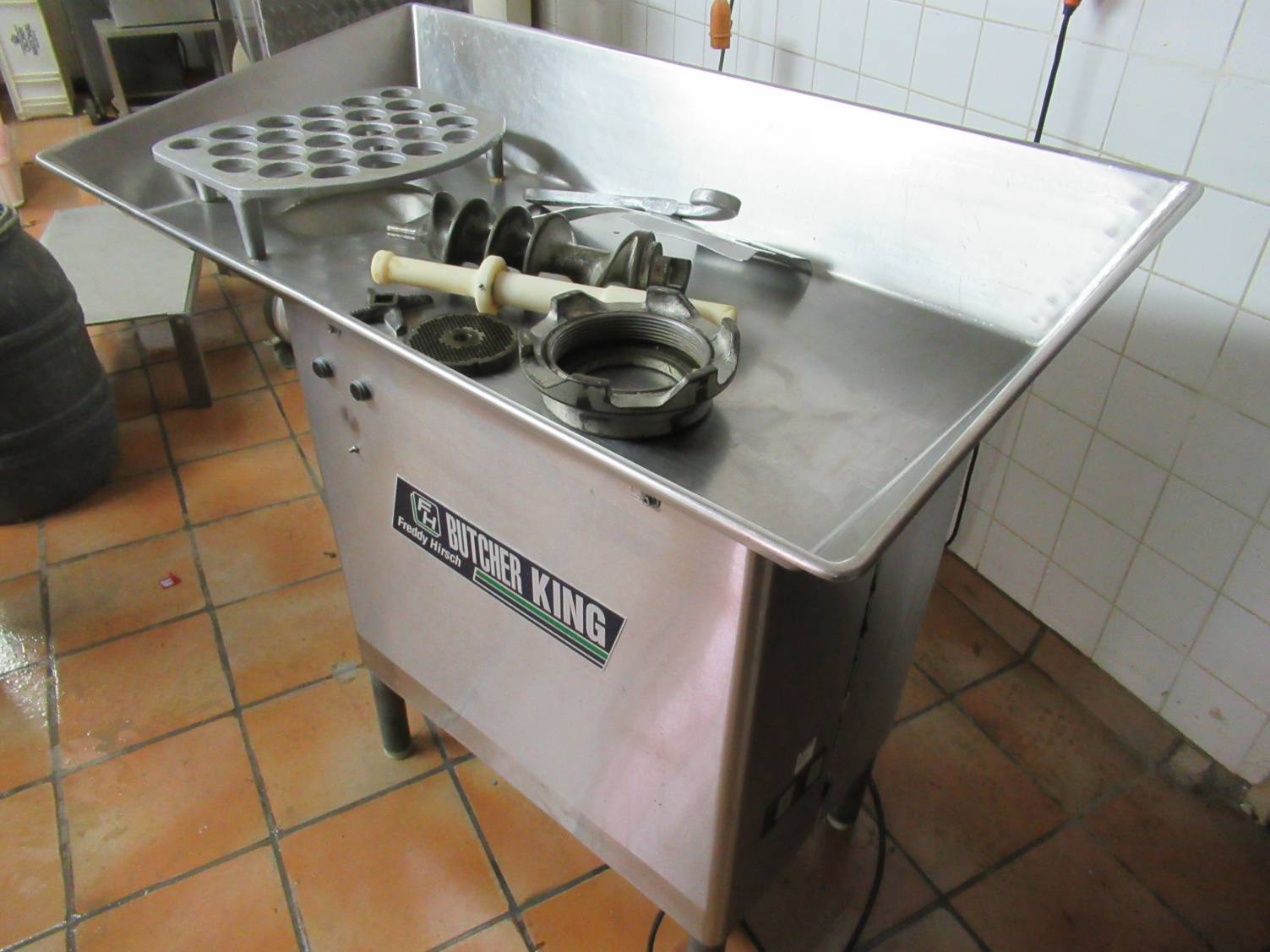 Freddy Hirsch / Butcher King 5.5 kW, 52 - Onsite auction of a butchery and meat processing equipment