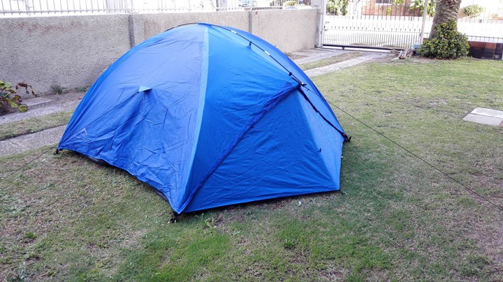 K-way camping tent for 3 people
