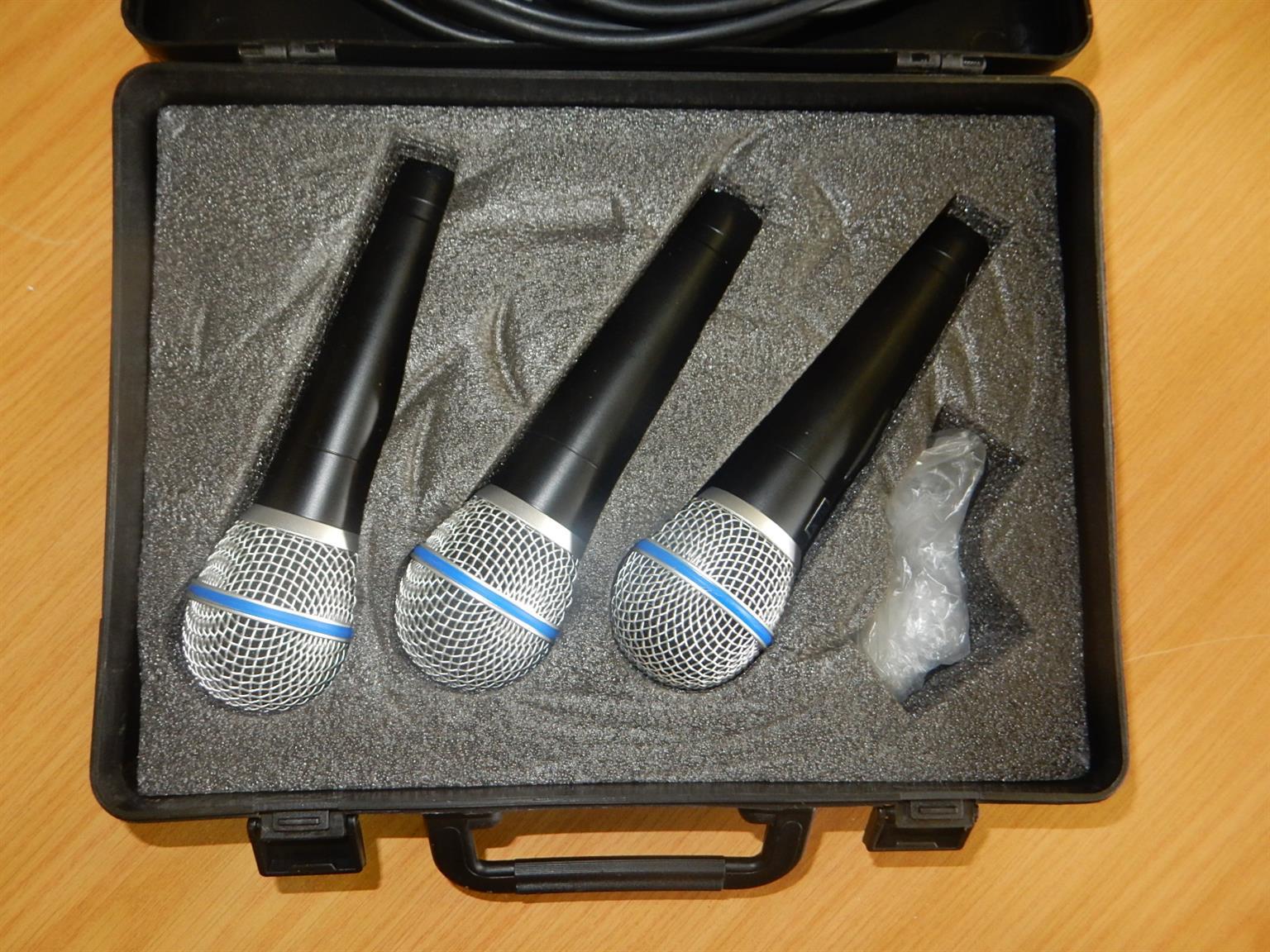 3 x Proton Microphone Set
