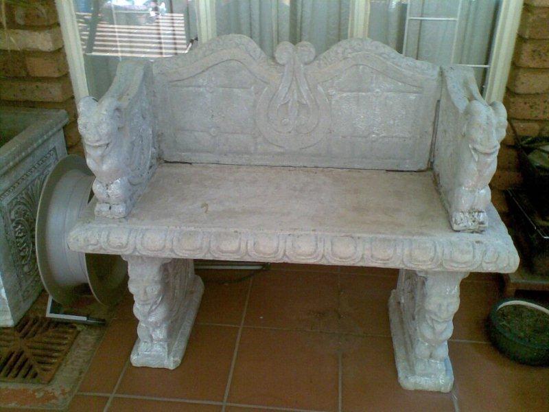 Concrete bench for sale - urgent