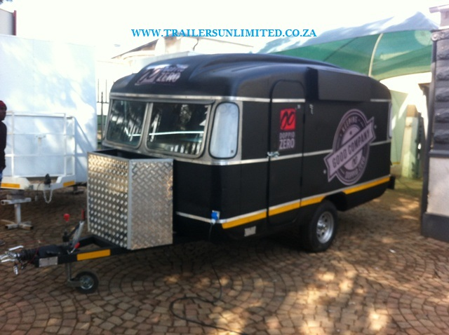 TRAILERS UNLIMITED CUSTOM BUILD DOPPIO ZERO....