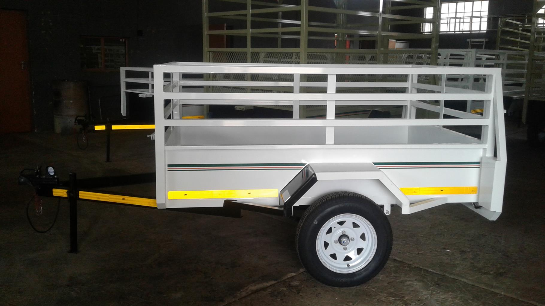 2M TRAILER FOR SALE, SABS APPROVED, BRAND NEW, PAPERS INCL