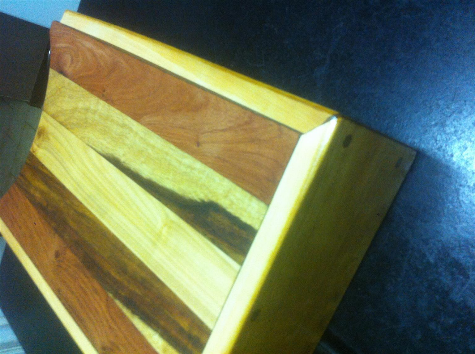Butchers block set