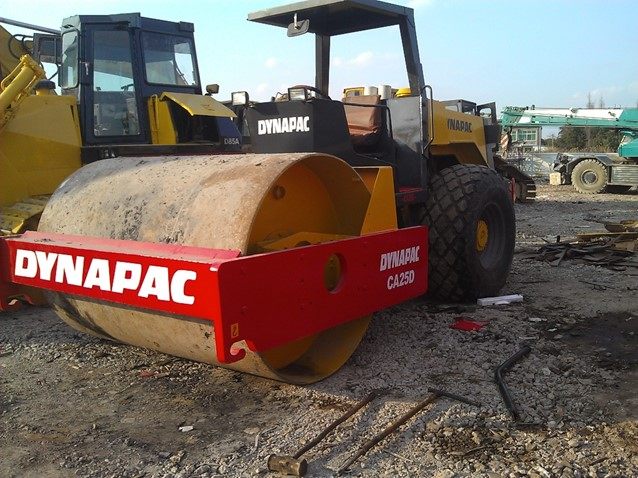 Used Dynapac CA25D For Sale