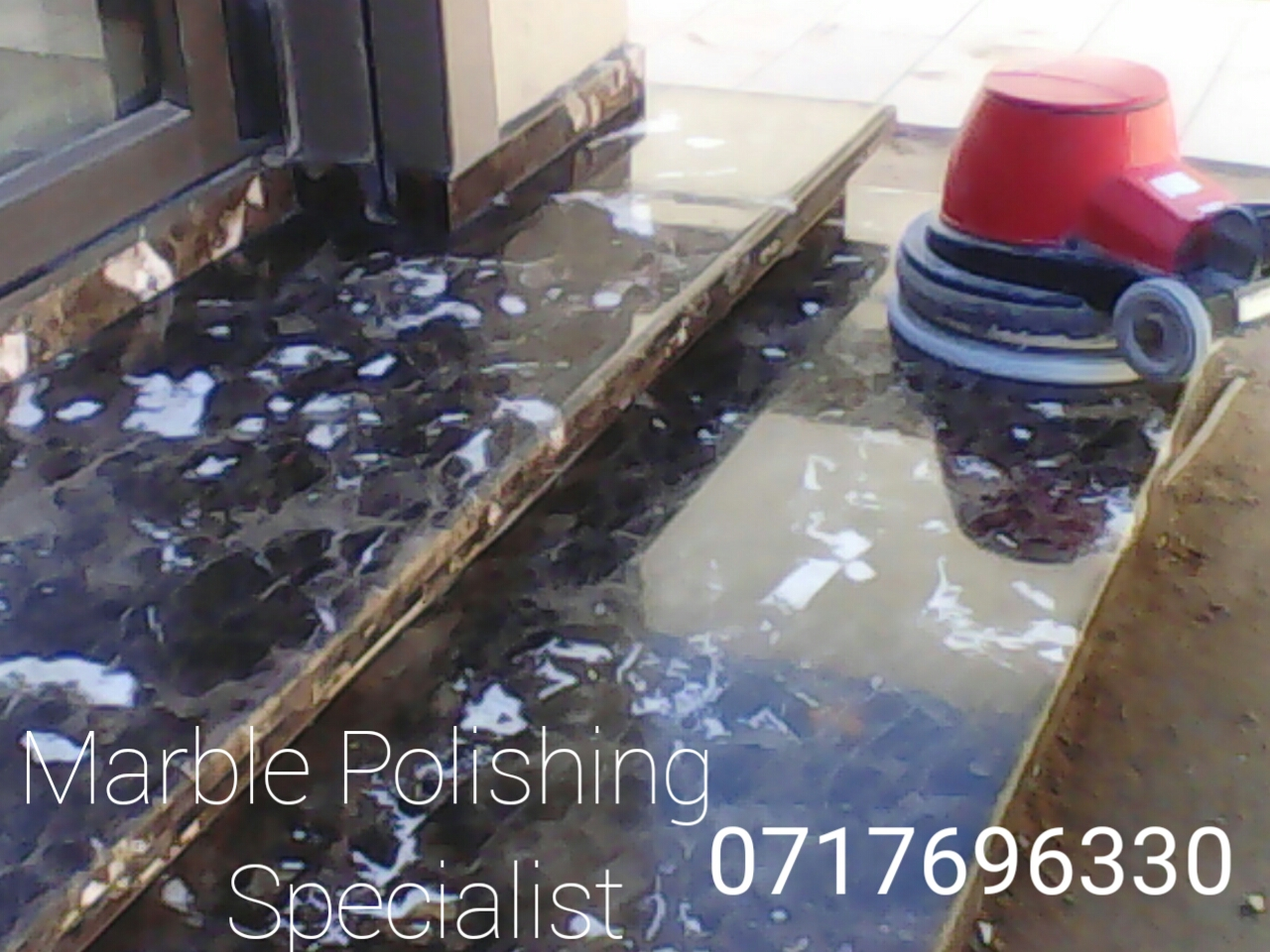 marble and travertine polishing