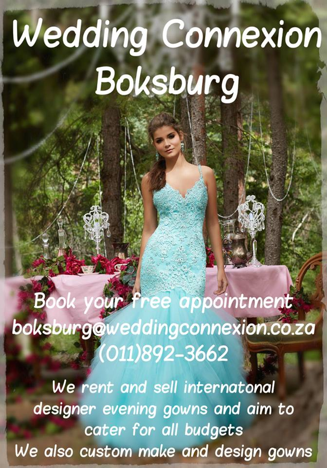 International designer brands evening and matric dance dresses sales and rentals