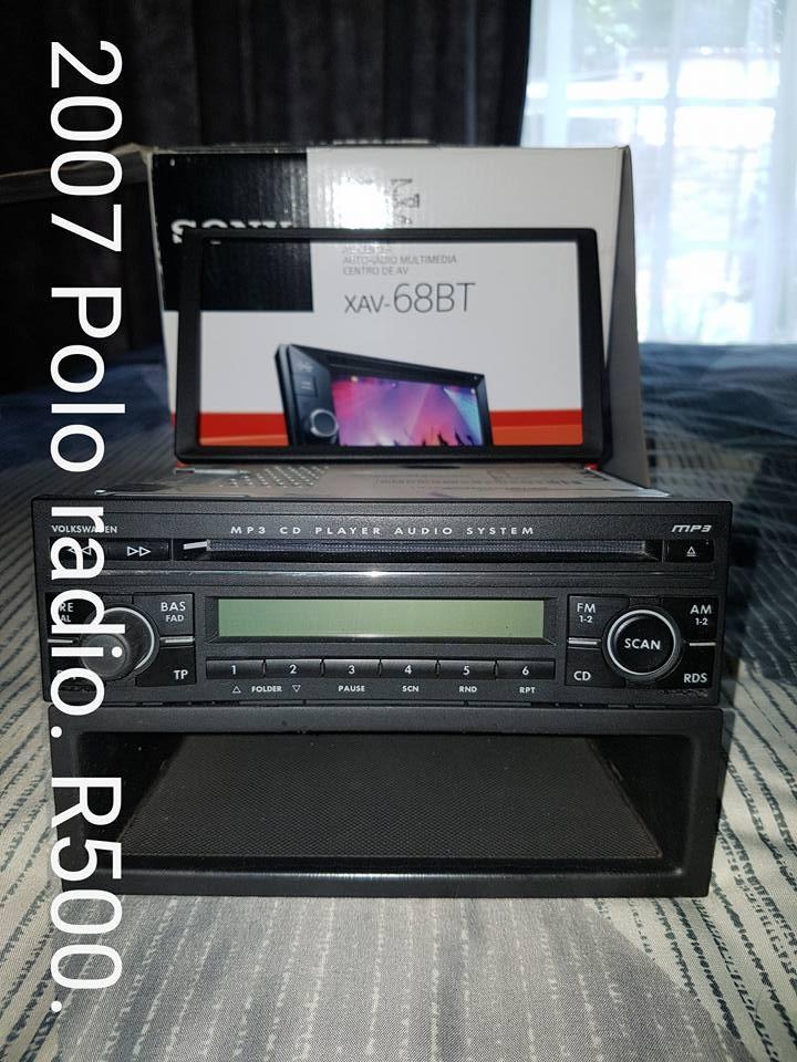 2007 Polo radio te koop