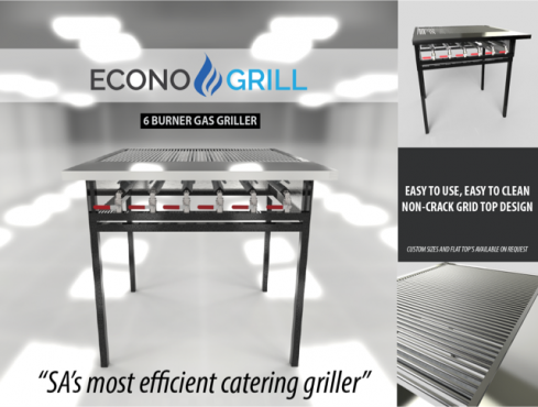 ECONO-GRILL  LP GAS GRILLER, , BRAND NEW, COMPETITIVE & EFFICIENT