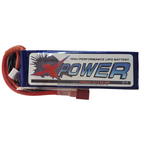 X-Power 3S 1800mAh 11.1V 30C