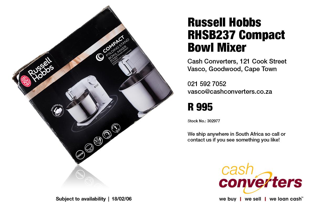 Russell Hobbs RHSB237 Compact Bowl Mixer