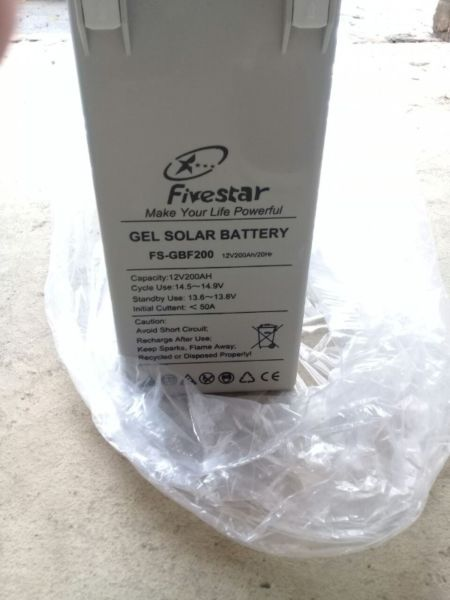 200AH 12V SOLAR GEL BATTERY - BRAND NEW BATTERIES - SEALED