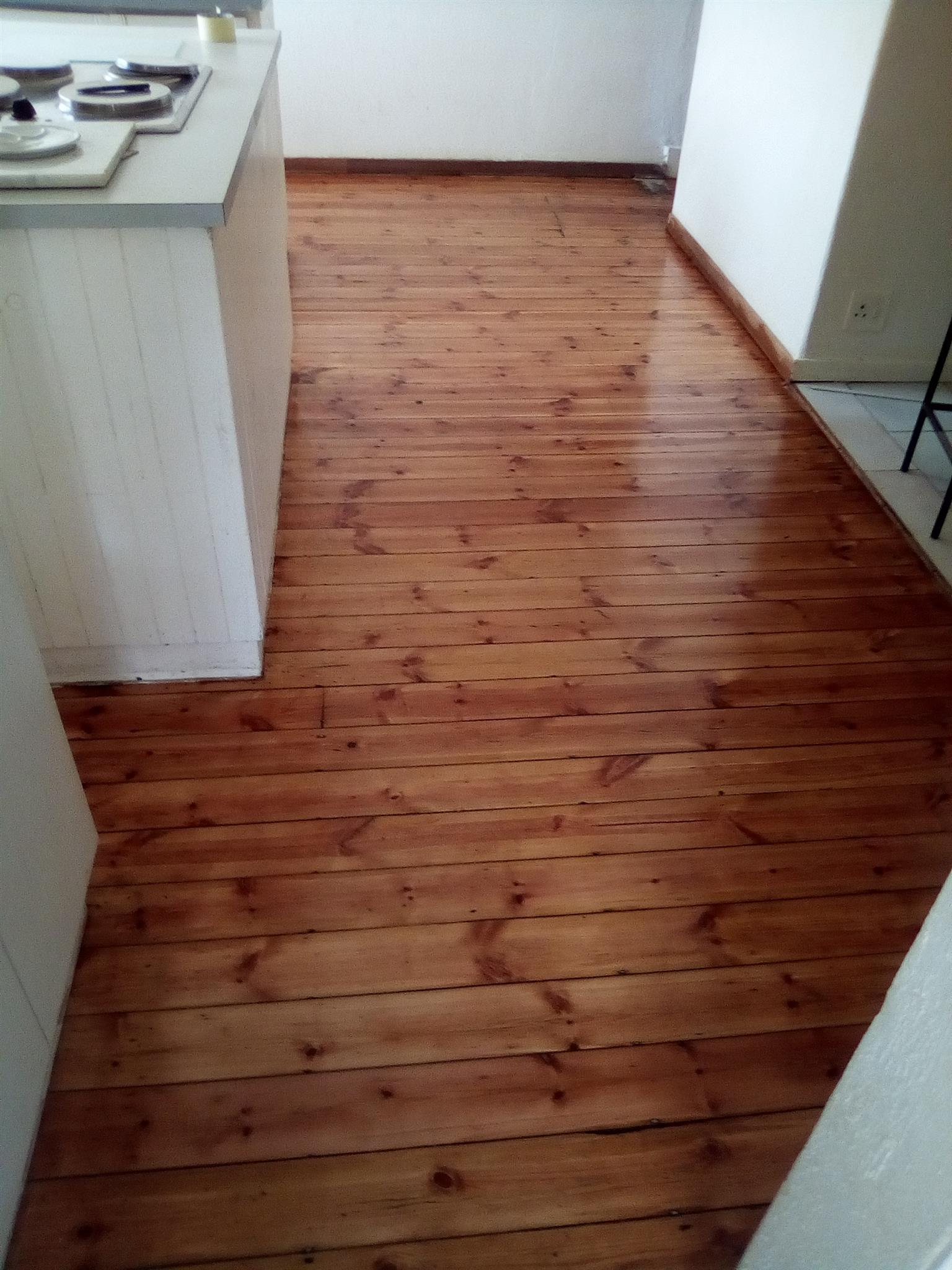 wooden parquet  flooring installations