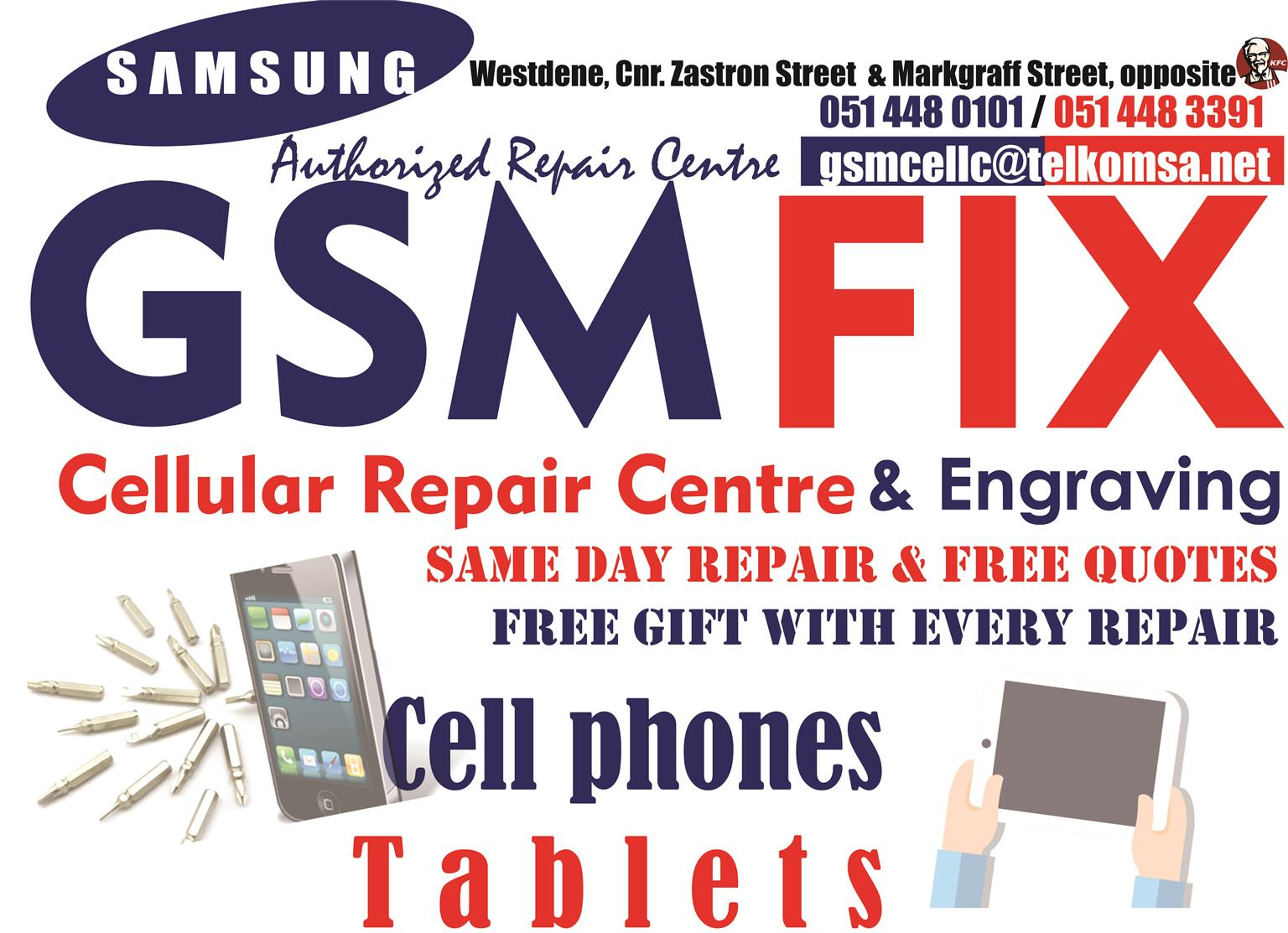 NR 1 Cellphone Repair Centre In Bloemfontein