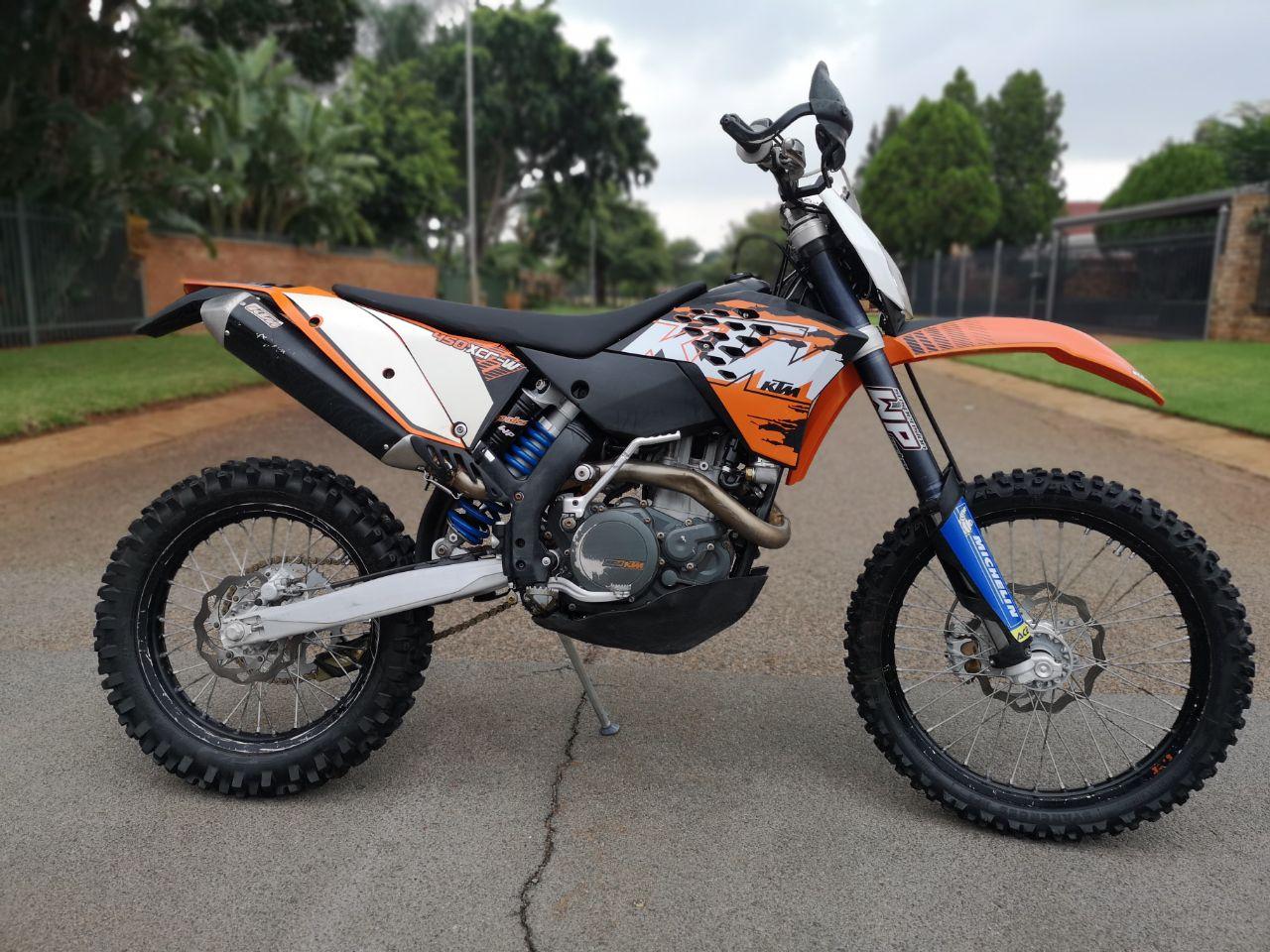 2009 KTM 450