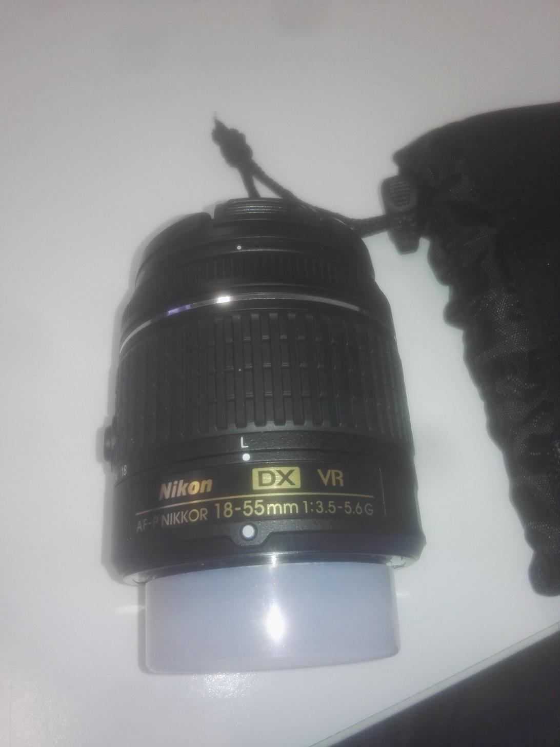 New Nikon AF-P DX NIKKOR 18-55mm f/3.5-5.6 G VR lens