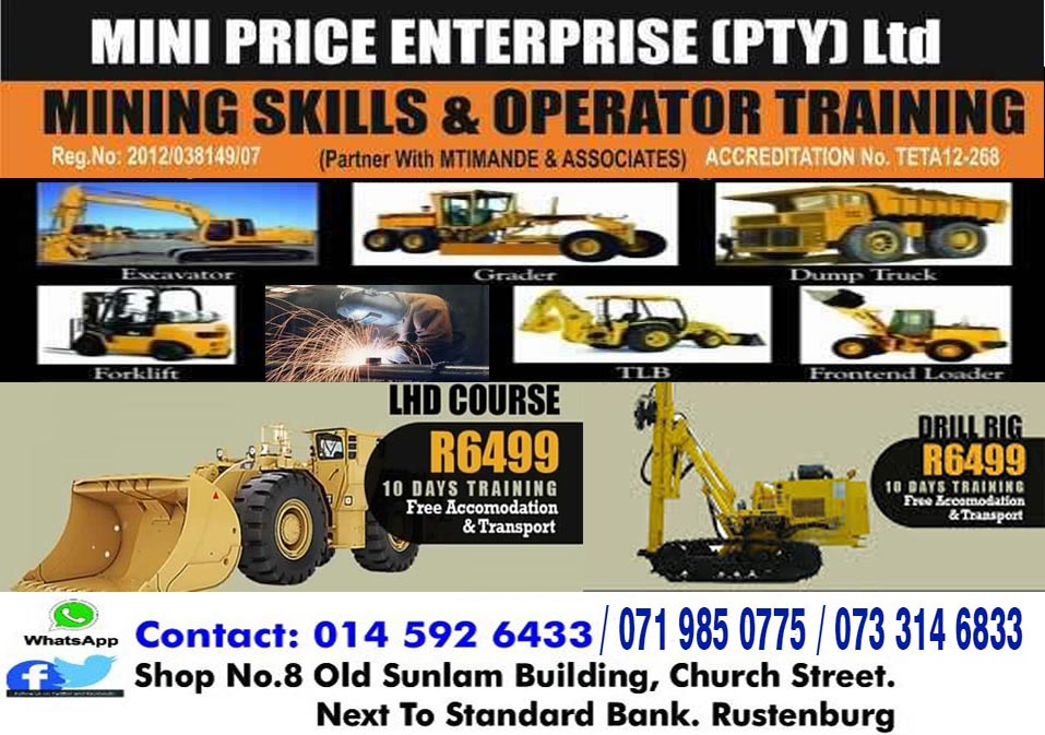 Full CO2 Boilermaker training practical,UV 777 dump truck Excavator training Rustenburg