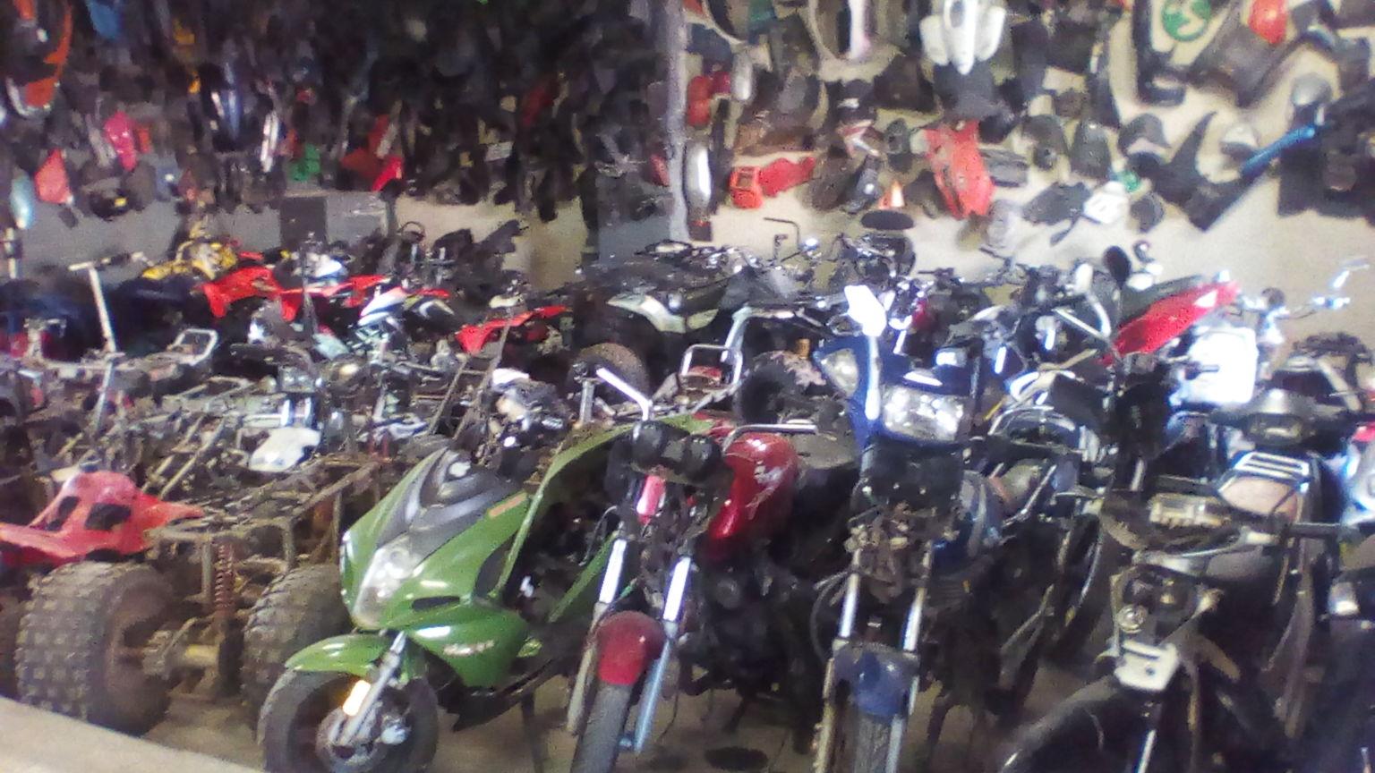 Boksburg Bike Scrapyard Junk Mail