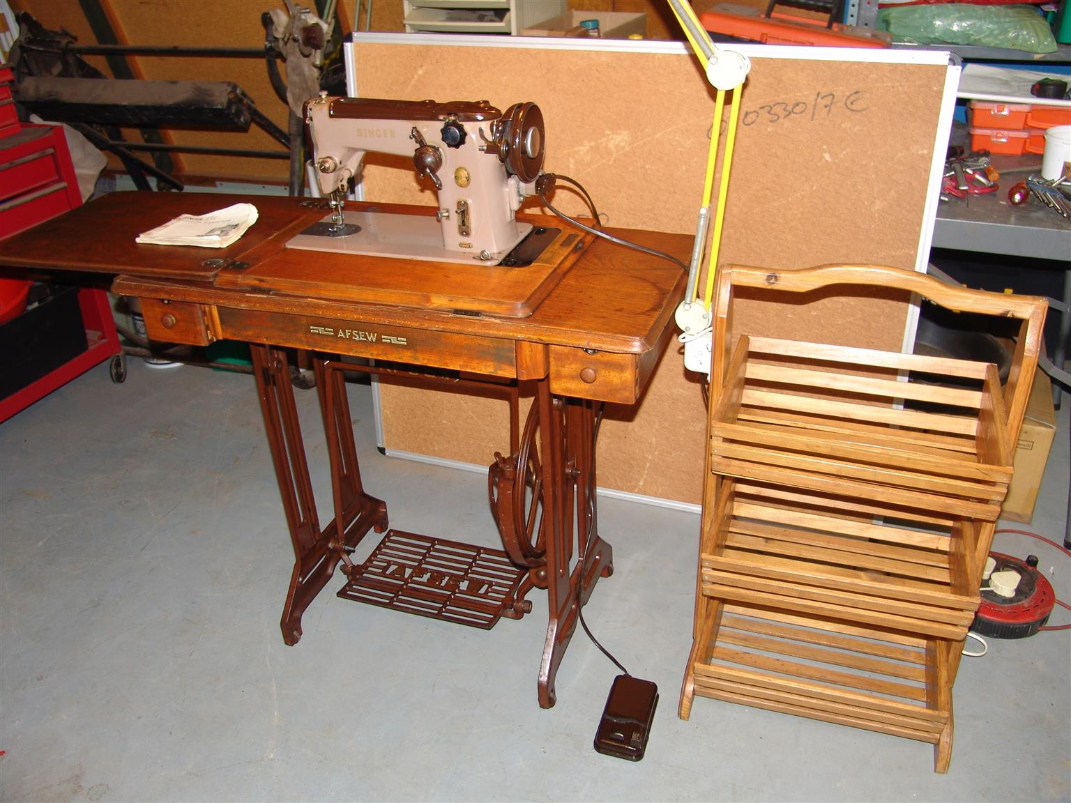Antique sewing machine table stand for sale junk mail antique sewing machine table stand for sale sciox Gallery