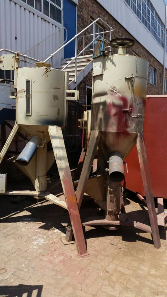 3 x Raw material mixers - Second hand