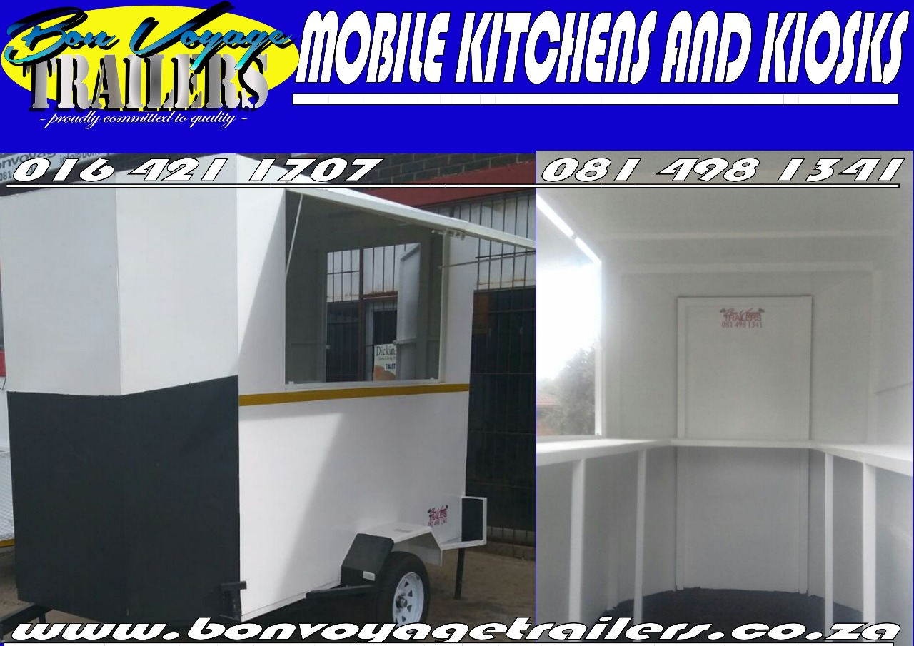 Mobile kitchens and kiosks / Trailers