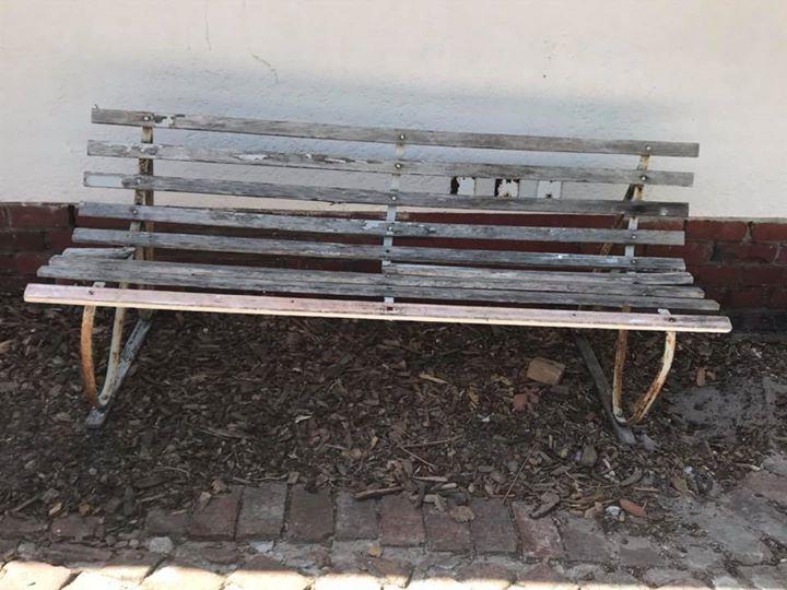 Outdoor bench needs
