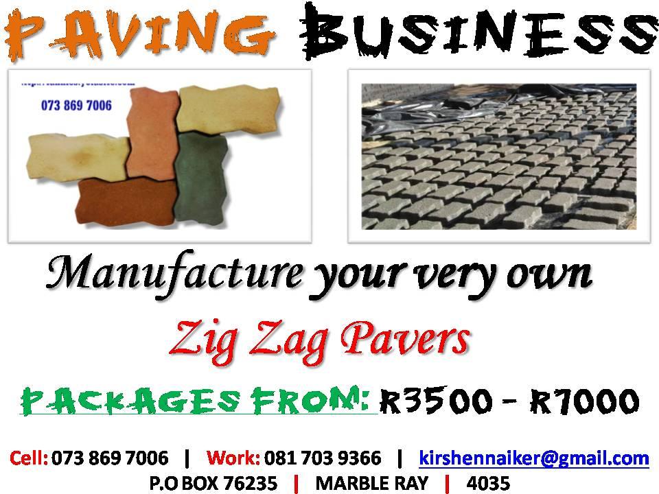 Block manufacturing Business