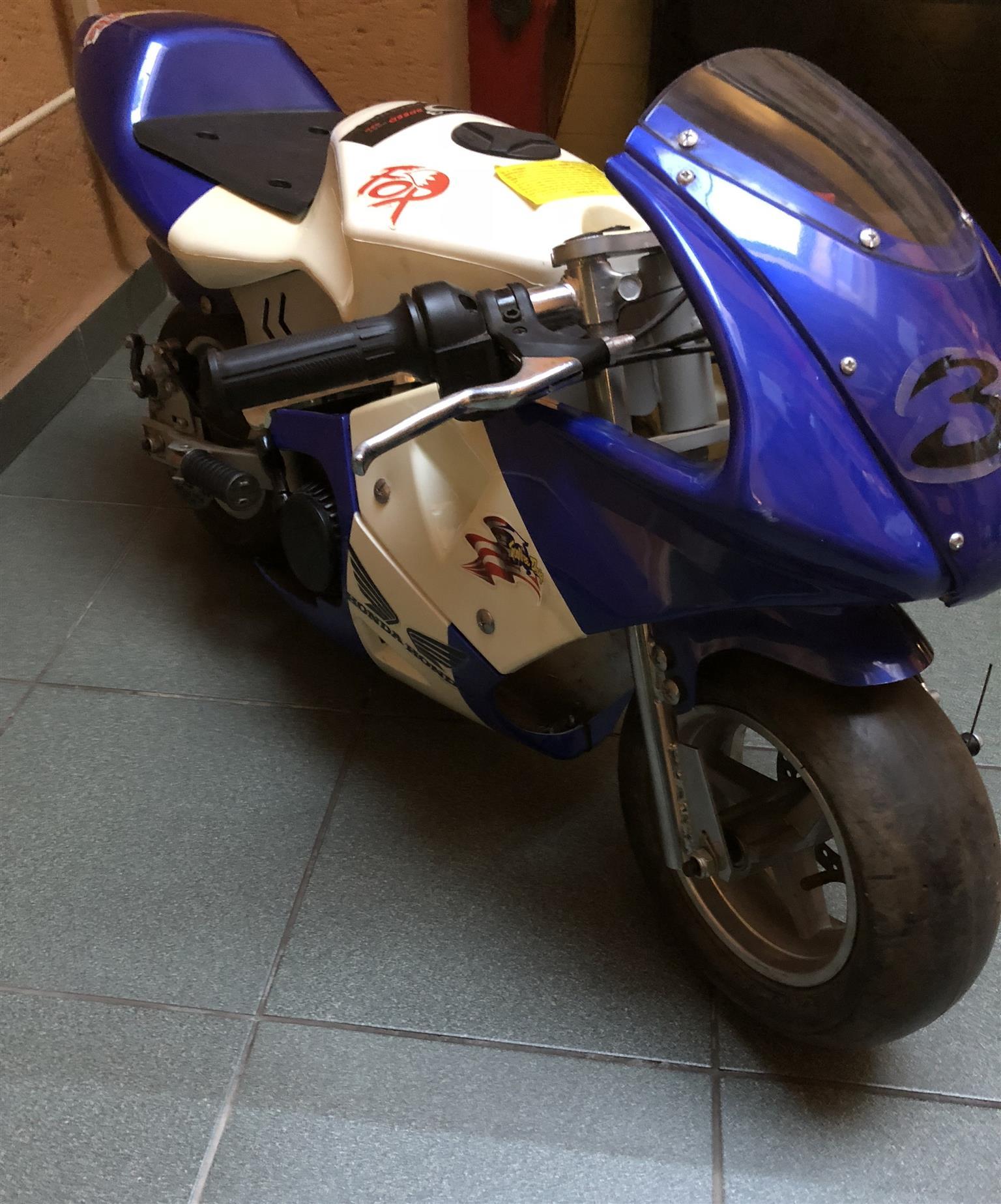 Pocket bike petrol
