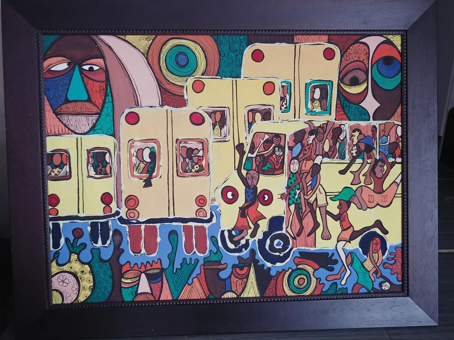African Painting For Sale
