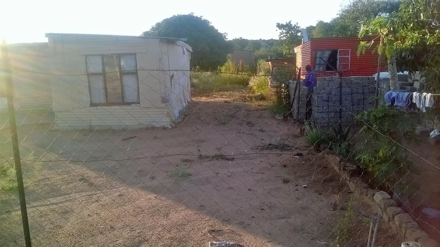 2 room shack with big stand for sale in Soshanguve Block KK