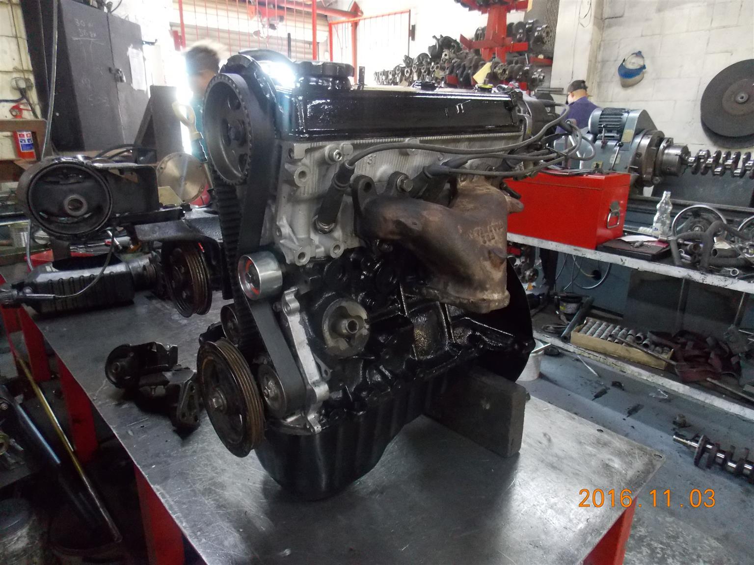 Toyota 2 e 13 00 engine comp.