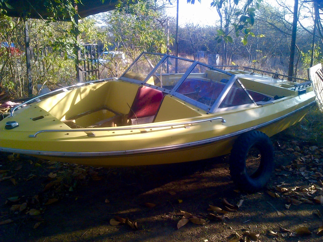 Inboard Boat Hull