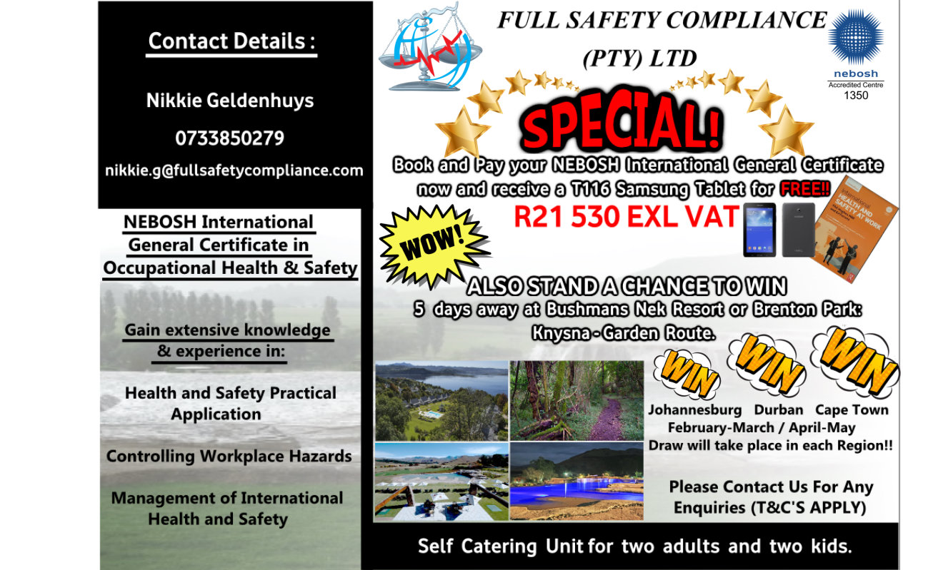 Full Safety Compliance - International Health & Safety
