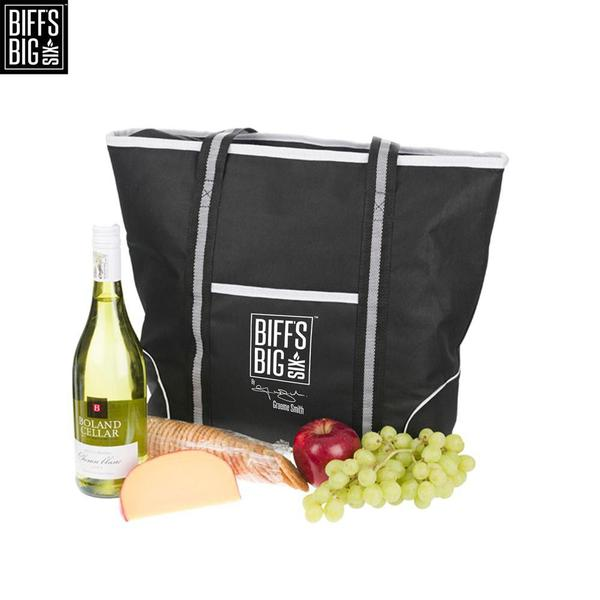 Picnic 4  Person Tote Cooler with complimentary 4 piece set of cutlery