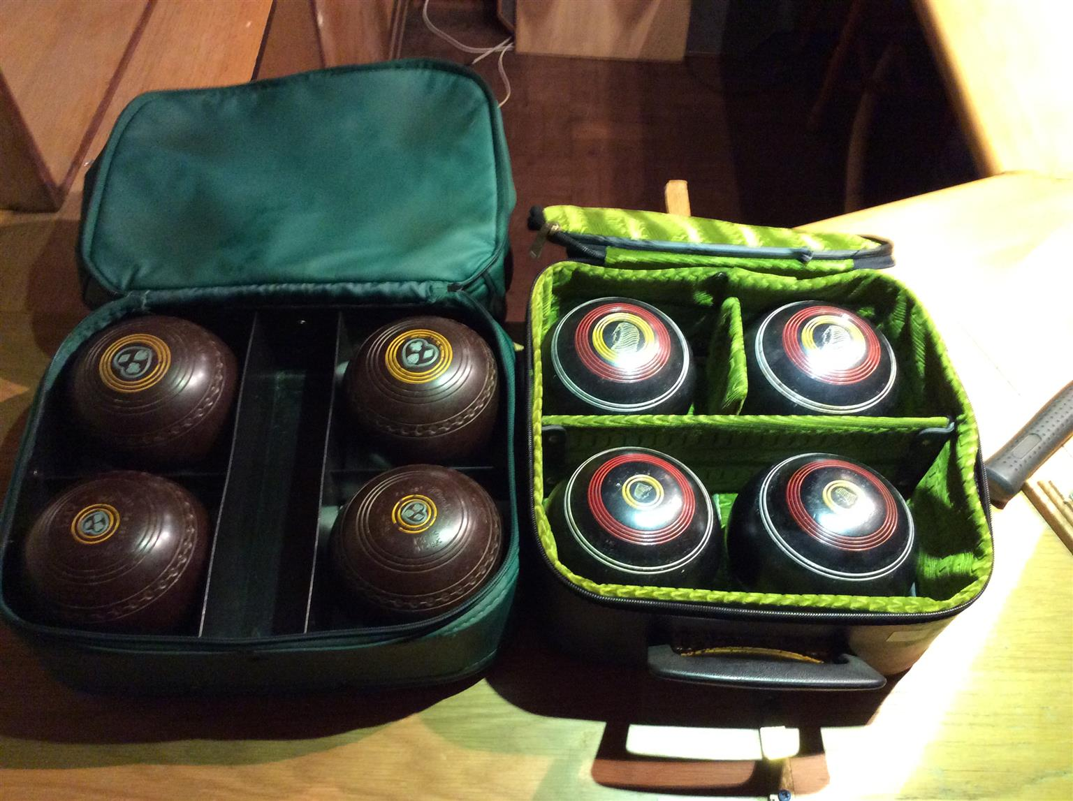 Lawn bowling balls for sale