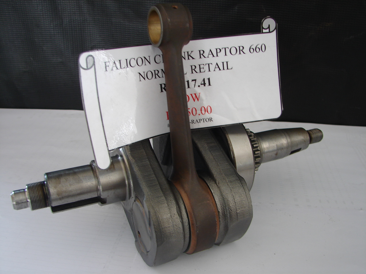 FALICON CRANK for the Raptor 660