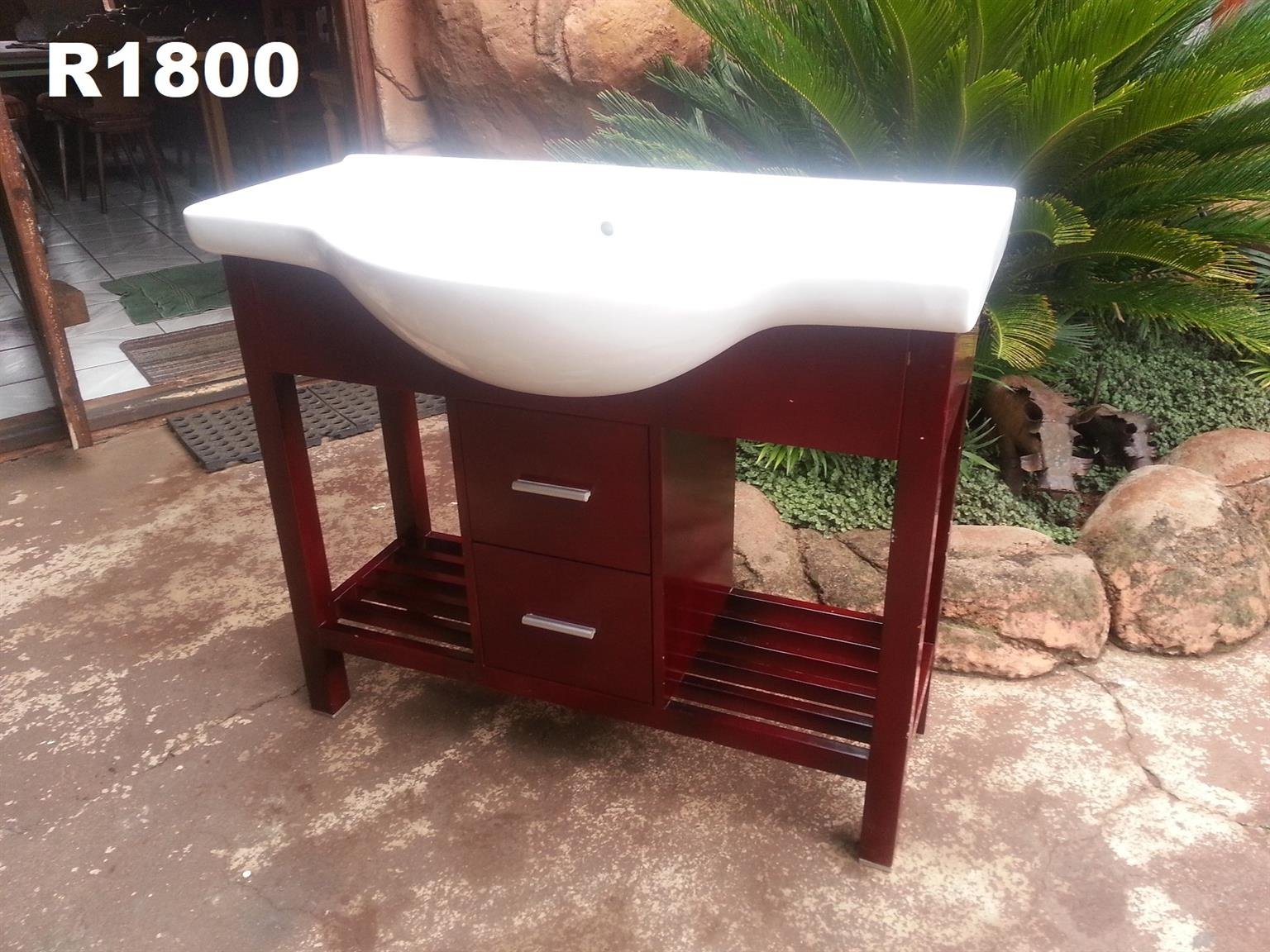 Classic New Washbasin Unit (1000x505x840)