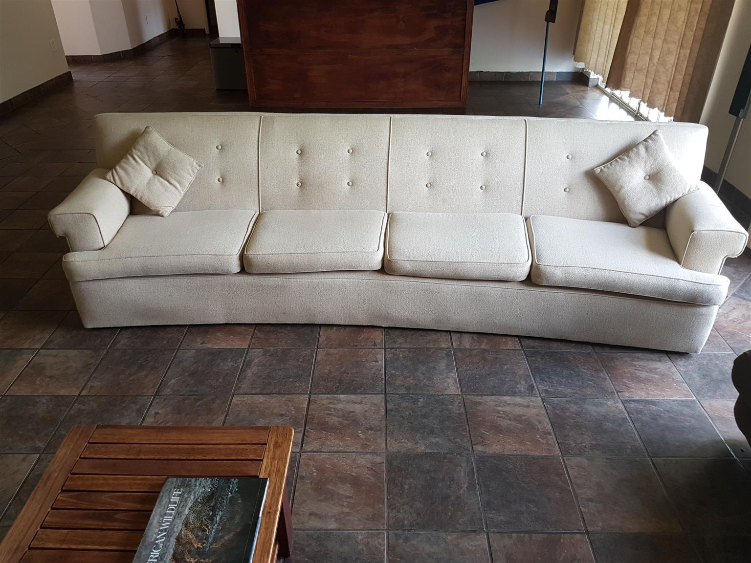 Large sturdy 4 seater couch